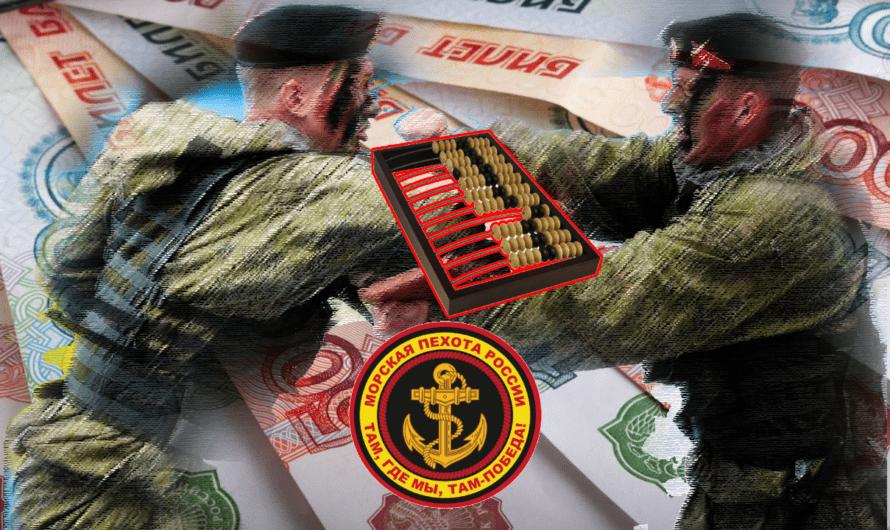 Денежное довольствие морского пехотинца — расчет на калькуляторе